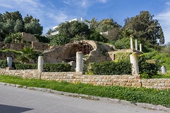Édifice à colonnes de Carthage