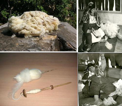 صناعة الصوف التقليدية