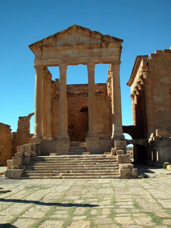 Sufetula : Site Romain à Sbeitla